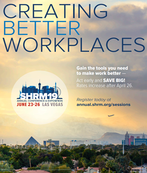 2019 SHRM Annual Conference & Exposition Sessions Brochure