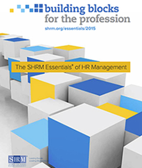 SHRM Essentials of HR Management Brochure