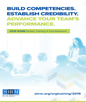2019 SHRM Organizational Training & Development